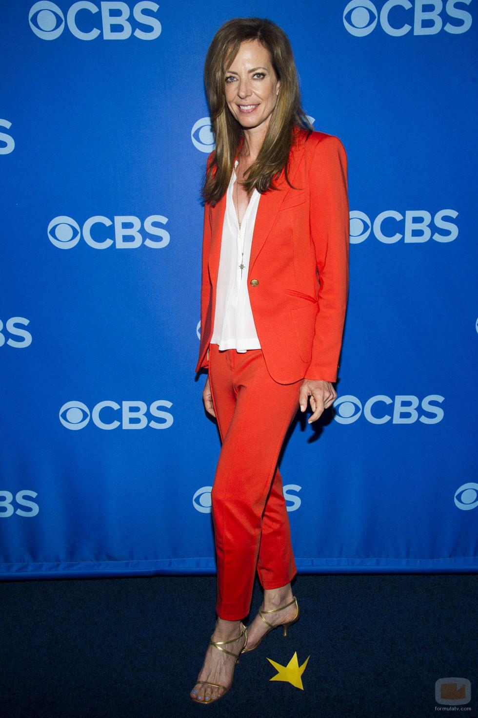 Allison Janney ('Mom') en los Upfronts 2013 de CBS