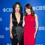 Cobie Smulders y Alyson Hannigan ('Cómo conocí a vuestra madre') en los Upfronts 2013 de CBS
