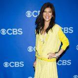 Julie Chen en la fiesta de los Upfronts 2013 de CBS