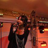 Raquel del Rosario, vocalista del grupo musical El Sueño de Morfeo