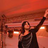 Raquel del Rosario en el concierto Big Five Event de Malmö