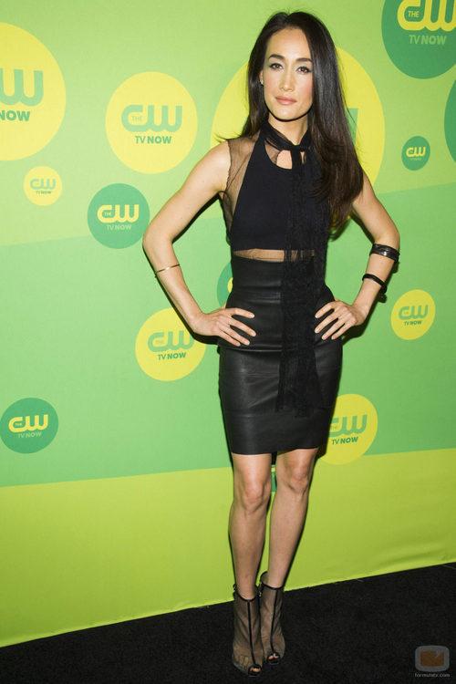 Maggie Q ('Nikita') en los Upfronts 2013 de The CW