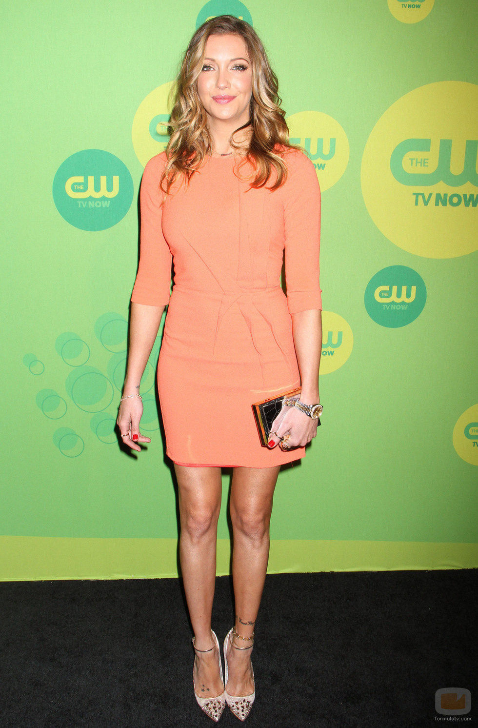 Katie Cassidy ('Arrow') en los Upfronts 2013 de The CW