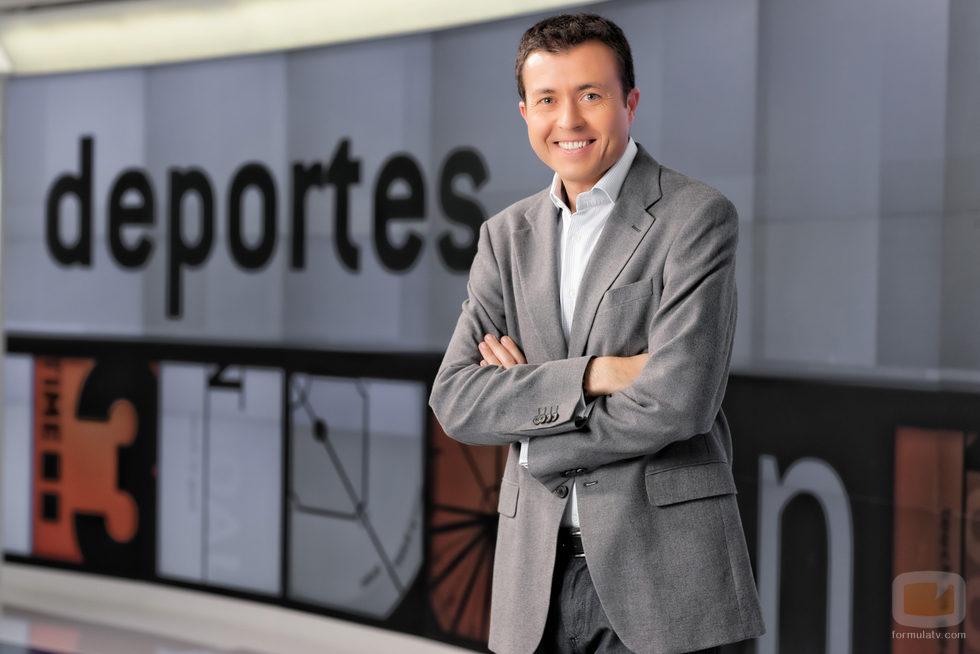 Manu Sánchez, presentador de 'Deportes 2' en Antena 3