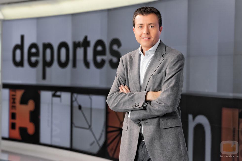 Manu Sánchez presenta 'Deportes 2' en Antena 3