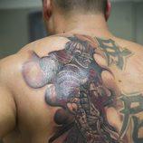 Tatuaje hecho en 'Madrid Ink'
