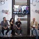 El equipo de 'Madrid Ink' presenta el programa