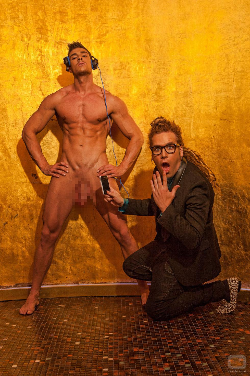 Jacobo Ostos, desnudo en Primera Línea