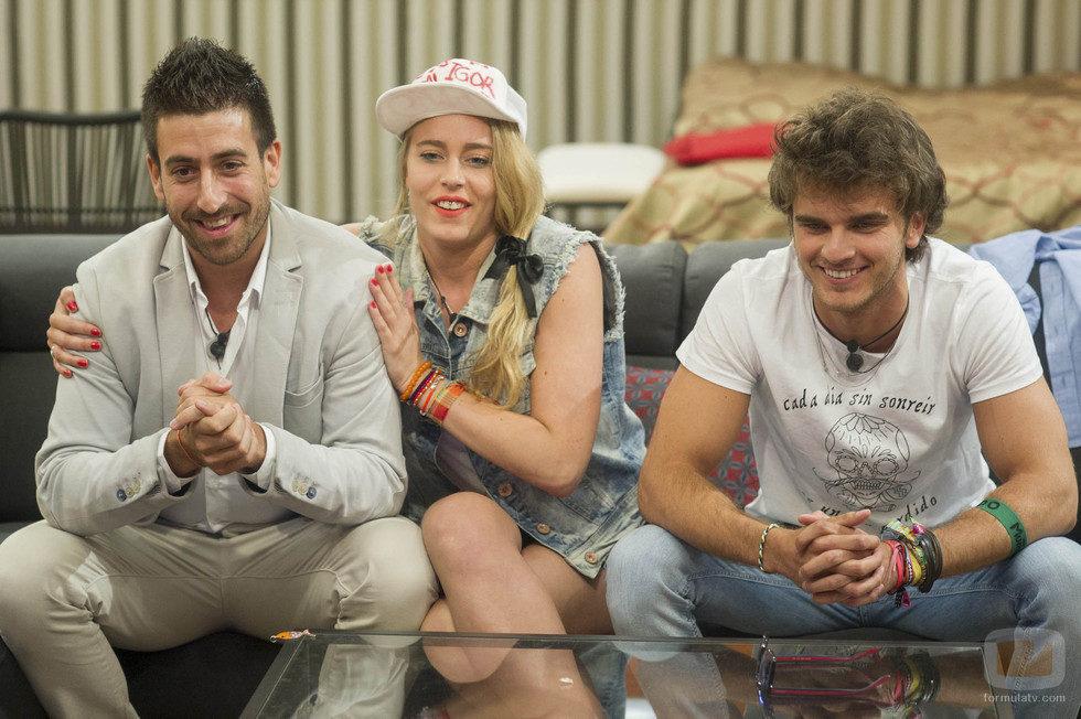 Igor, Giuls y Edoardo en la repesca de 'Gran Hermano catorce'