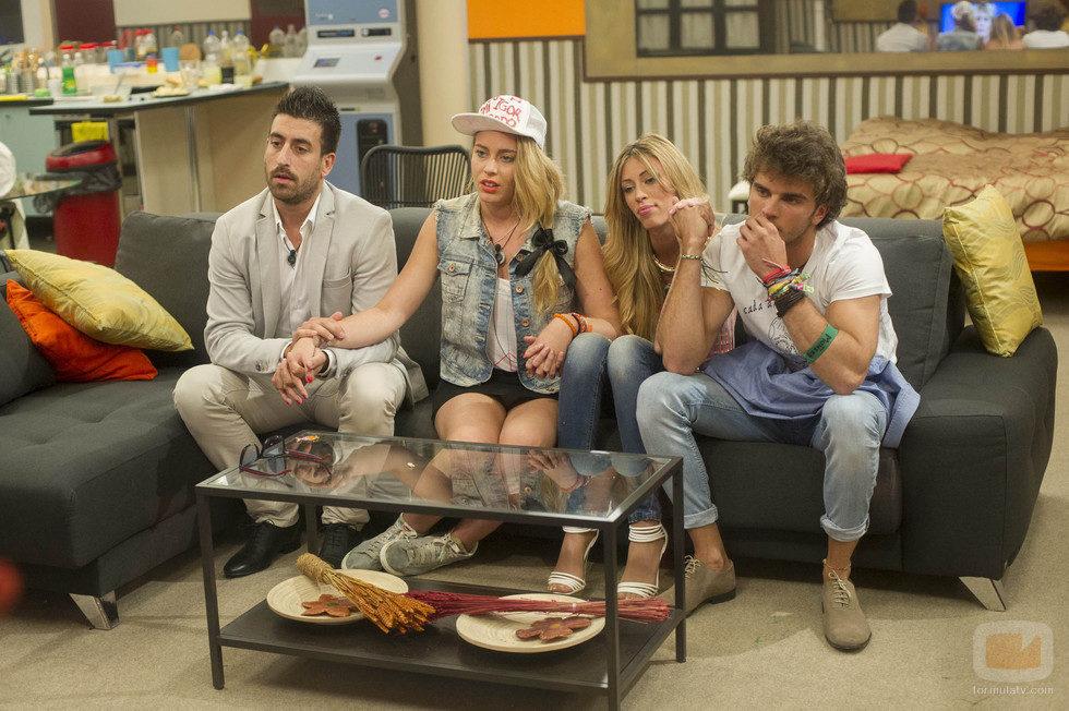 Igor, Giuls, Miriam y Edoardo en la repesca de 'Gran Hermano catorce'