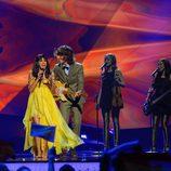 Raquel del Rosario y El Sueño de Morfeo en la final de Eurovisión 2013
