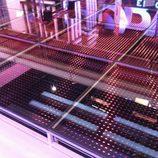 Luces LEDs del suelo de 'El objetivo'