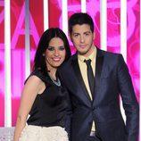 Núria Marín y Nando Escribano, presentadores de 'Cazamariposas'
