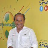 José Antonio Martín, comentarista del Área de Deportes de Mediaset España