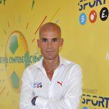 Ramón Fuentes, narrador de partidos de la Copa FIFA Confederaciones de Brasil