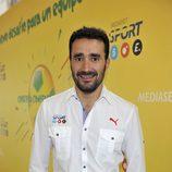 Juanma Castaño, periodista deportivo de Mediaset España