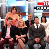 Sandra Barneda y el jurado popular del programa 1000 de 'De buena ley'