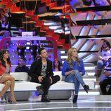Carmen Alcayde, Arturo Requejo y Giuls, colaboradores de 'Gran Hermano: El debate'