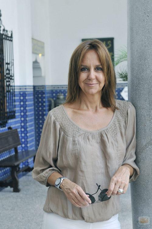 María Dueñas, autora de 'El tiempo entre costuras'