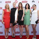 Las actrices de 'Dexter', en la presentación de su octava y última temporada
