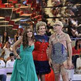 Argi, Mercedes Milá y Álvaro en la final de 'Gran Hermano catorce'