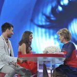 Igor y Susana entrevistados por Mercedes Milá en la final de 'Gran Hermano catorce'
