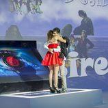 Susana e Igor se abrazan en la final de 'Gran Hermano catorce'
