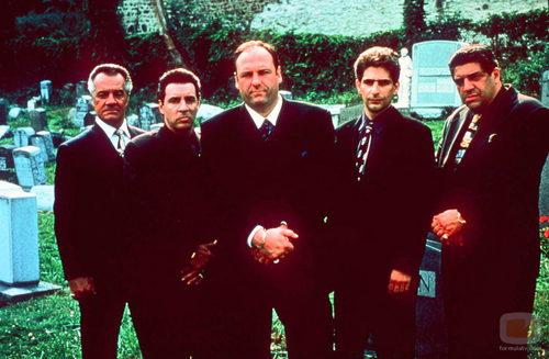 James Gandolfini, cabeza de la familia Soprano en su papel de Tony