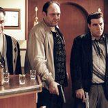 Tony Sirico, James Gandolfini y Steven Van Zandt en 'Los Soprano'