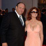 """James Gandolfini y Susan Sarandon en la presentación de """"Romance & Cigarettes"""""""