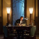 Don Rafael en su despacho de las 'Galerías Velvet'