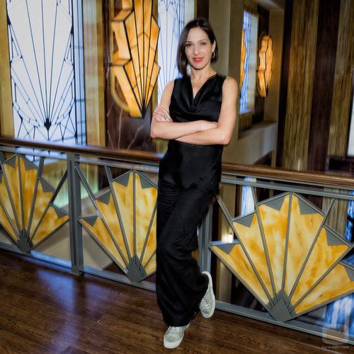Natalia Millán en la presentación de 'Galerías Velvet'