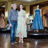 José Sacristán y Aitana Sánchez-Gijón en la presentación de 'Galerías Velvet'