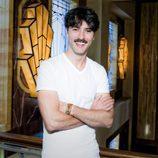 Javier Rey en la presentación de 'Galerías Velvet'
