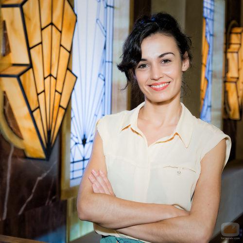 Sara Rivero interpreta a Carmen en 'Galerías Velvet'