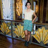 Sara Rivero en la presentación de 'Galerías Velvet'