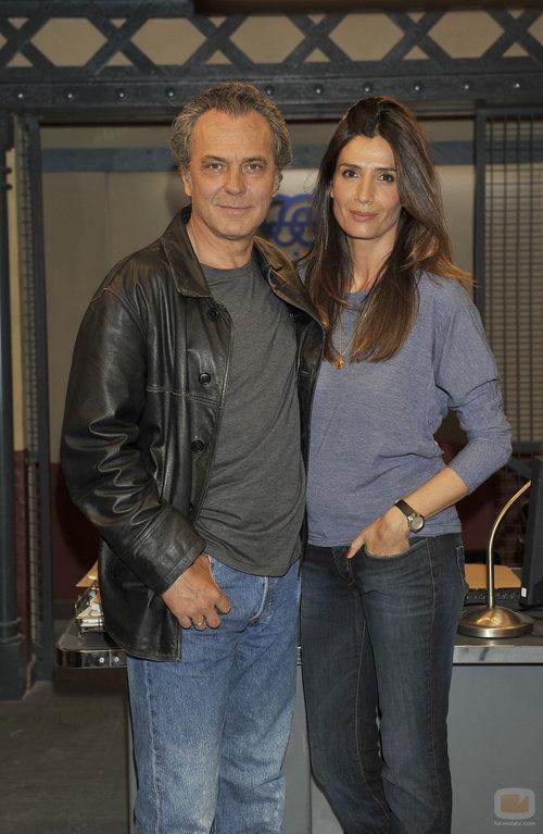 José Coronado y Elia Galera en la presentación de 'El príncipe'