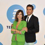 La presentadora Ana Rosa con Màxim Huerta