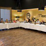 Familiares y exconcursantes de 'MasterChef' en la final del programa
