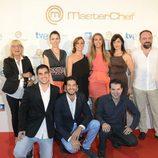 Los exconcursantes de 'MasterChef' en la sala Kinépolis de Madrid