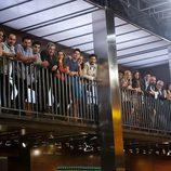 Compañeros y familiares de Juan Manuel en la final de 'MasterChef'