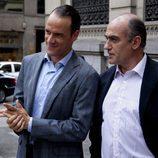 Mario Conde y Juan Abelló en 'Mario Conde. Los días de gloria'