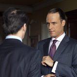 José María Aznar y Mario Conde en 'Mario Conde. Los días de gloria'