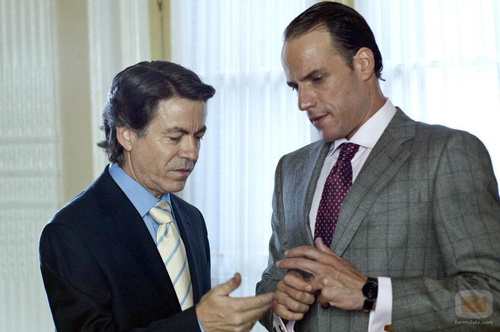 Felipe González y Mario Conde en 'Mario Conde. Los días de gloria'