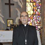 Miguel Rellán como el Obispo Aguilar en la nueva serie de Telecinco