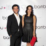 Fran Perea y Luz Valdenebro en el aniversario de Bambú Produccioens