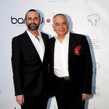 Antonio Reyes y Pep Antón Muñoz en la fiesta de aniversario de Bambú Producciones