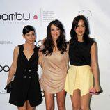 Carlota Olcina, Paula Prendes y Verónica Sánchez celebran los cinco años de Bambú