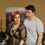 Pepa Charro y Andoni Agirregomezkorta en 'Esposados'