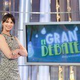 Beatriz Montañez, presentadora de 'El gran debate' en verano